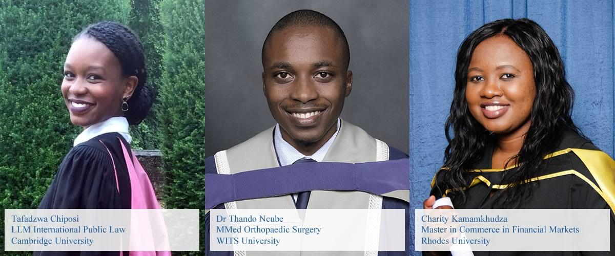 Tafadzwa Chiposi, Dr Thando Ncube, Charity Kamamkhudza