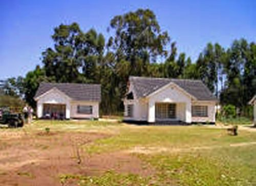 Two nurses' houses at Borradaile Hospital, Marondera, Zimbabwe.